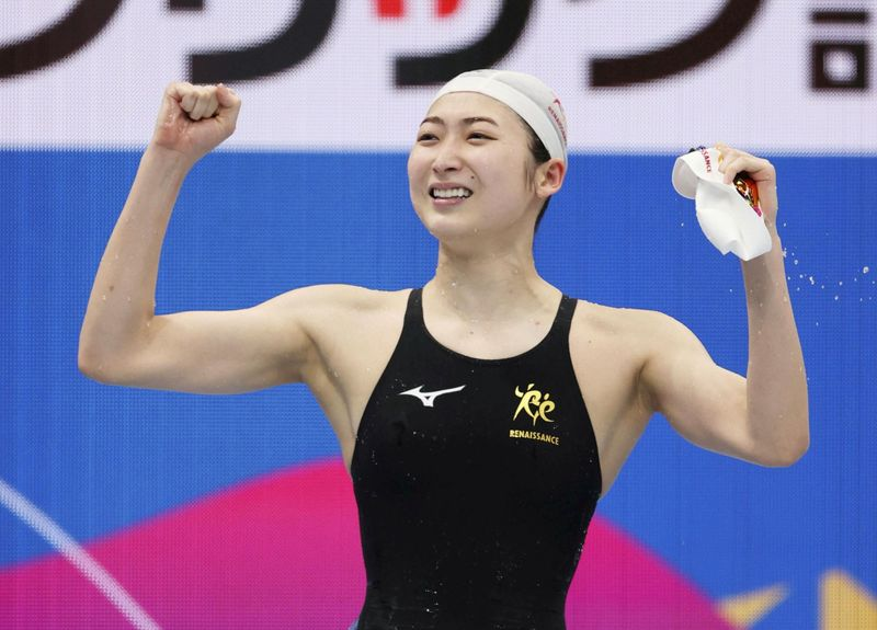 Swimming-Leukaemia survivor Ikee adds two more titles at Japan championships