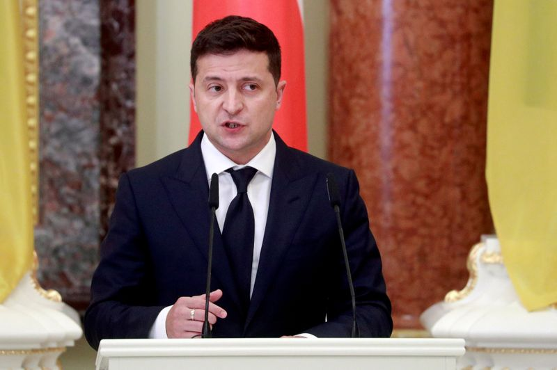 Ukrainian, Turkish presidents hold talks amid Donbass tensions with Russia