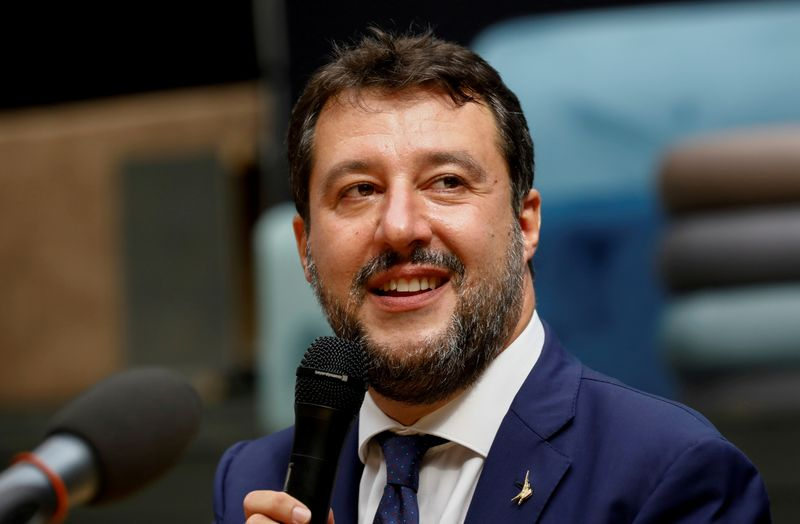 Italian prosecutor says Salvini should not be tried in Gregoretti migrant case
