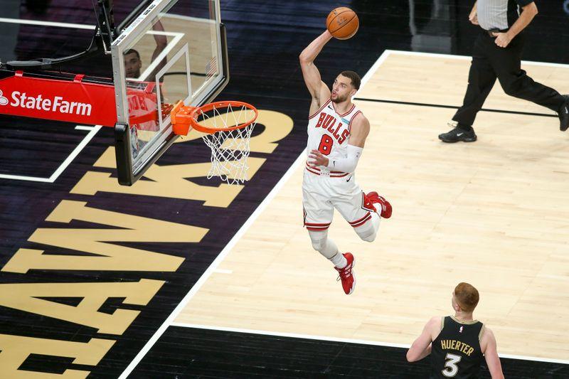 Zach LaVine, Bulls out for rebound win vs. Timberwolves