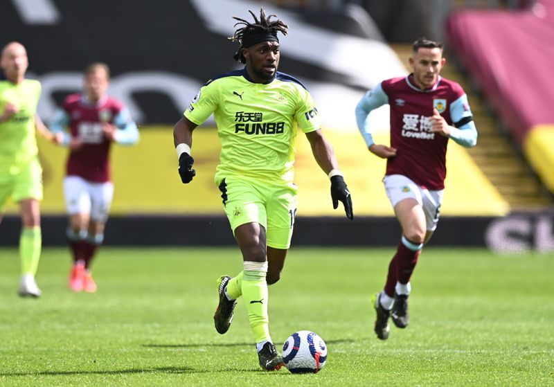Soccer: Saint-Maximin inspires crucial win for Newcastle at Burnley
