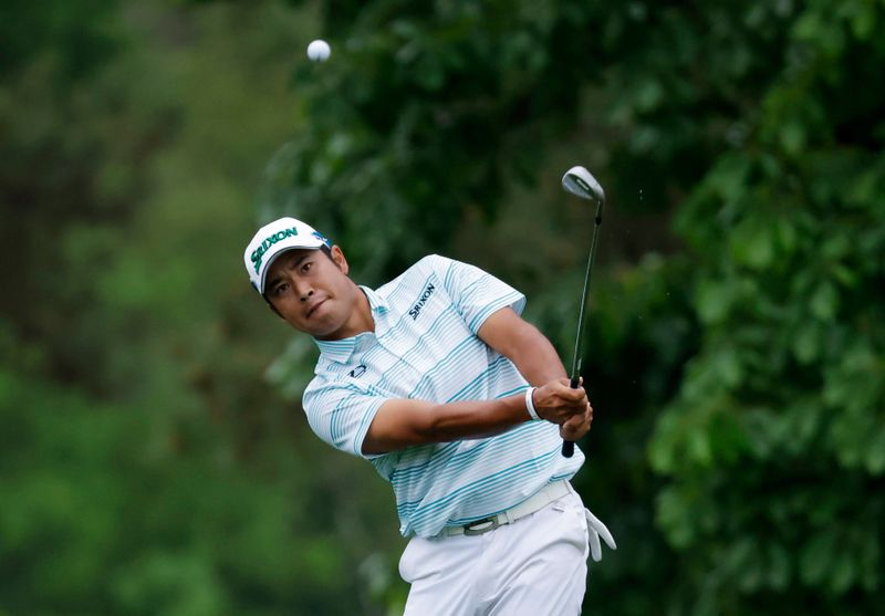 Golf: Japan's Matsuyama hangs on to make history with Masters win