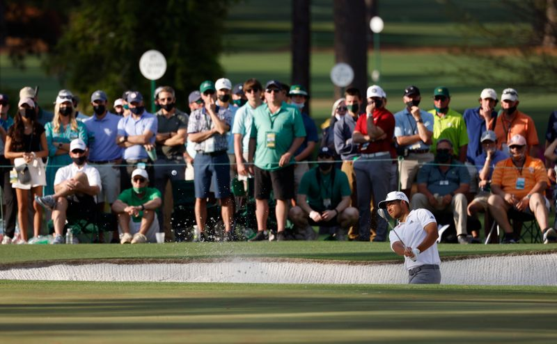 Schauffele laments 'perfect' shot that ended Masters chance