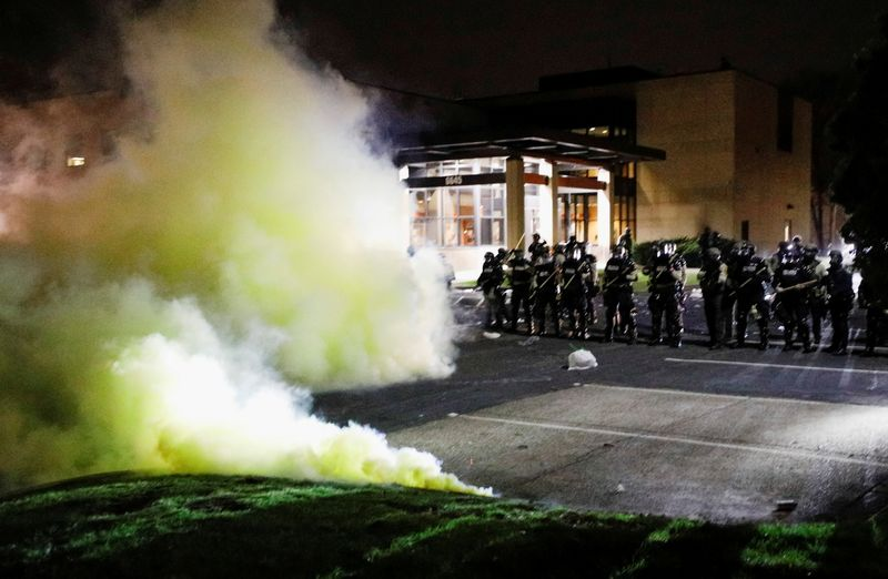 Police shooting death of Black man near Minneapolis sparks second night of unrest
