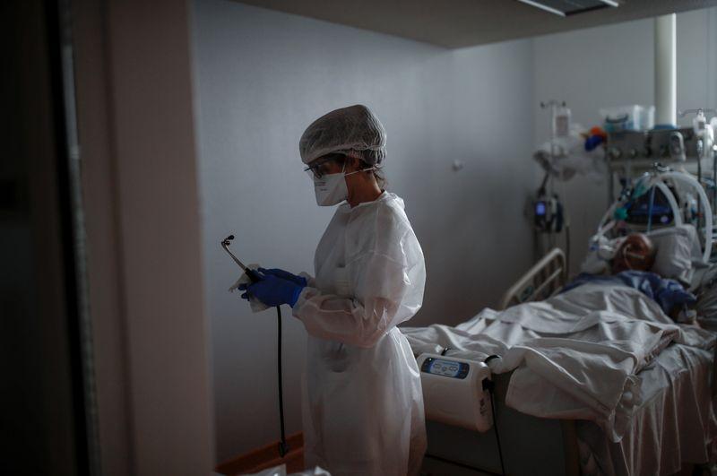 Coronavirus: La France se rapproche des 6.000 patients en réanimation