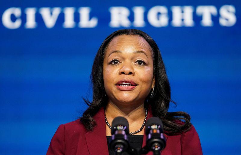 Biden's pick for top U.S. civil rights lawyer, Kristen Clarke, faces fraught task