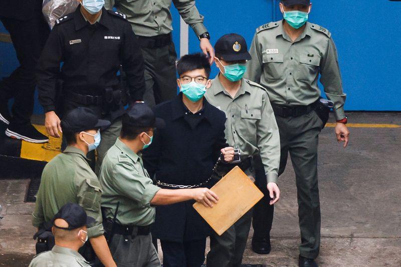 Hong Kong: L'activiste Joshua Wong encore condamné à 4 mois de prison