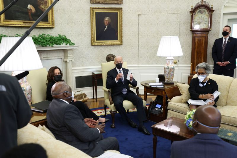 Biden vows to keep pushing for 'significant change' for Black Americans