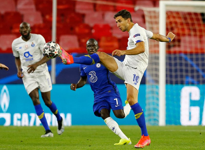 Soccer-Chelsea see off Porto to reach semis despite Taremi stunner