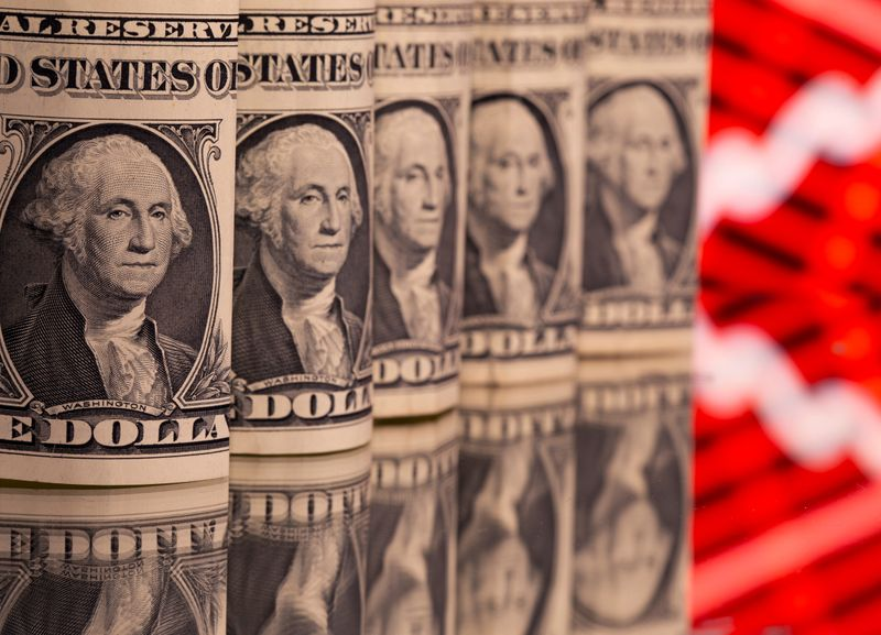 Dollar slips to three-week low as inflation fears seen baked in for now