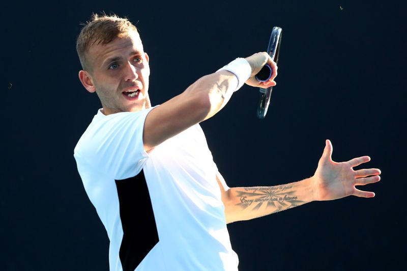 Evans eager to get vaccinated ahead of Wimbledon