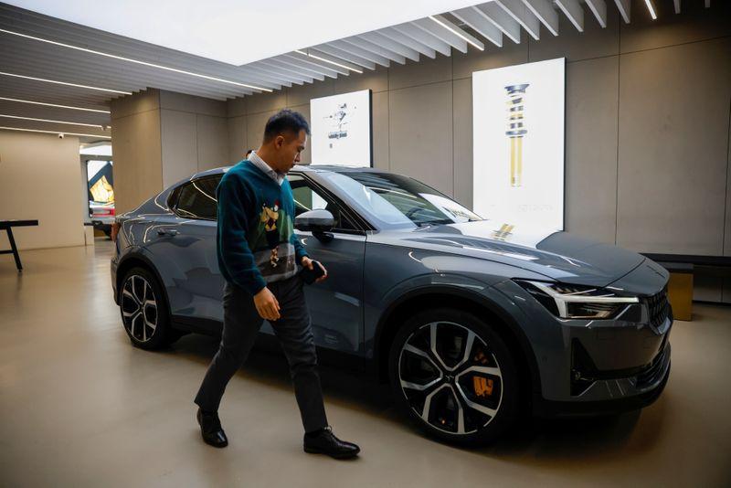 Geely's EV unit Polestar raises $550 million, company says