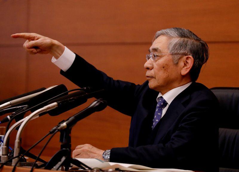 Le gouverneur de la BoJ met en garde contre l'impact de la pandémie de coronavirus sur l'économie