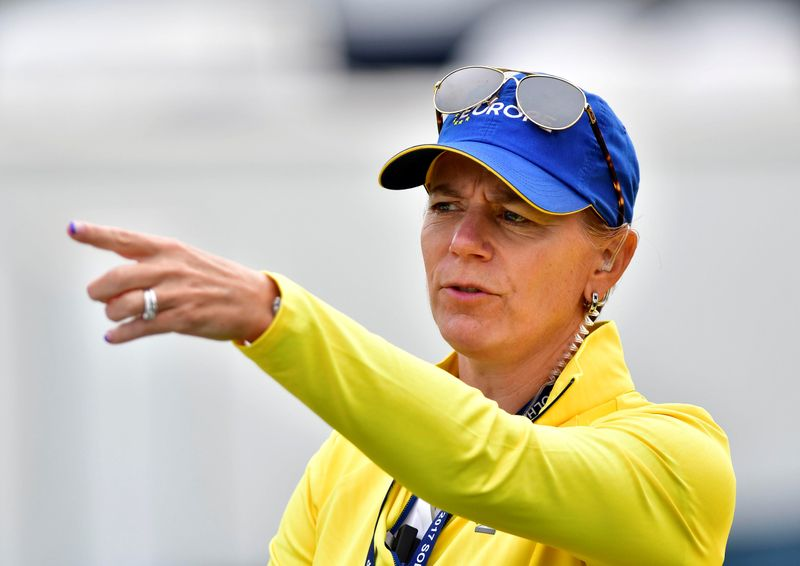 Sweden's Sorenstam to compete on home soil for first time since 2008