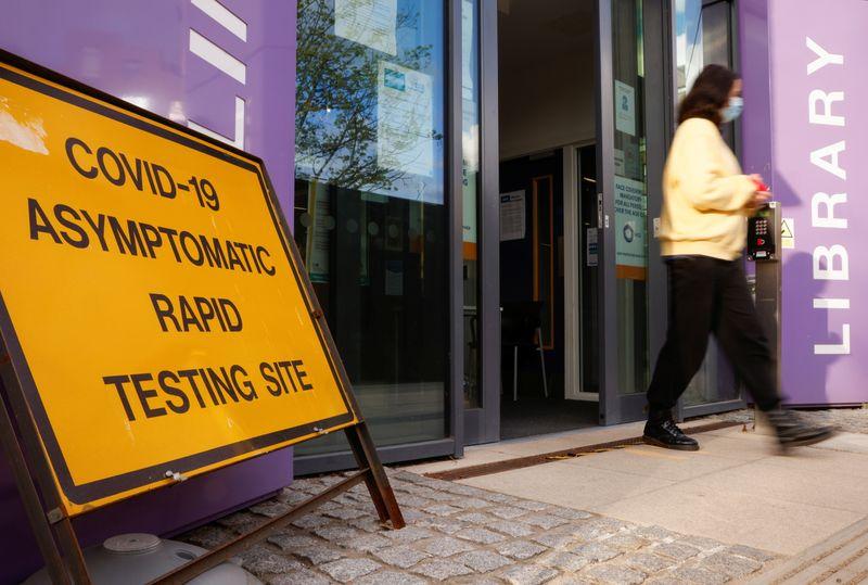 Britain has no plans to halt rapid COVID-19 testing -health ministry