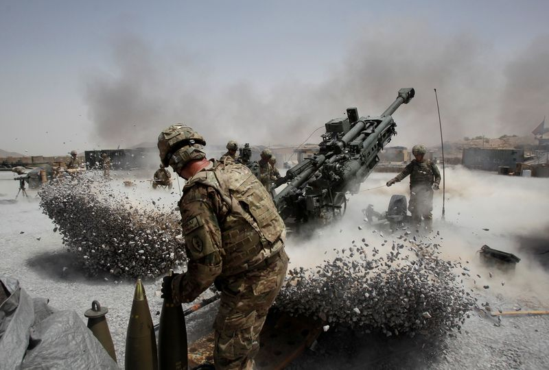 Analysis-U.S. announcement of pullout from Afghanistan undermines chances of peace