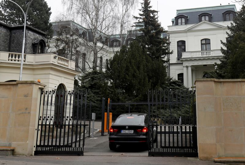 Czechs expel 18 Russian envoys, accuse Moscow over ammunition depot blast
