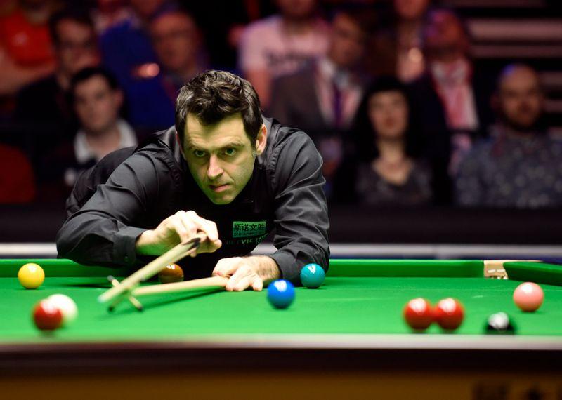 Snooker: World champion O'Sullivan wins as fans return to Crucible