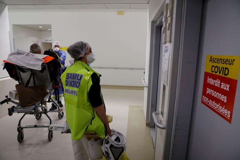 France/Coronavirus: Le nombre de patients en réanimation remonte