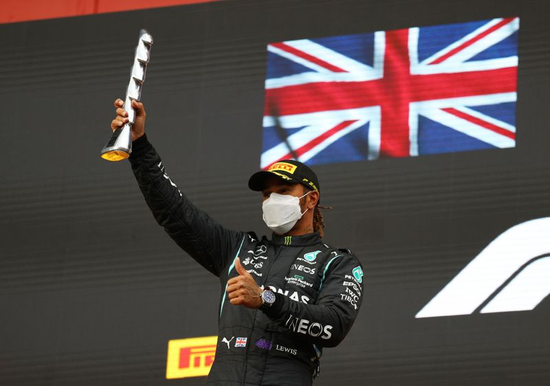Motor racing-I'm only human, says Hamilton after recovery from rare error