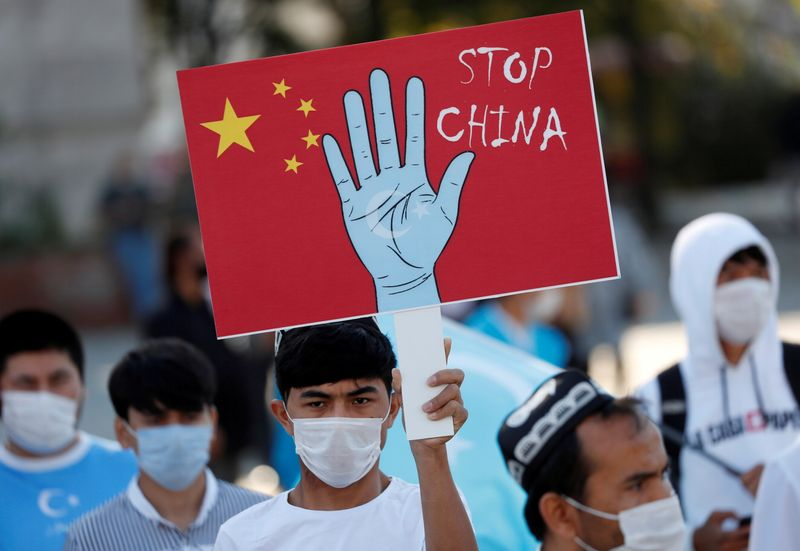 China's Xinjiang actions could meet criteria for crimes against humanity - rights group