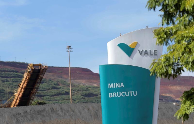 Produção e vendas de minério da Vale crescem mais de 14% com firme demanda da China