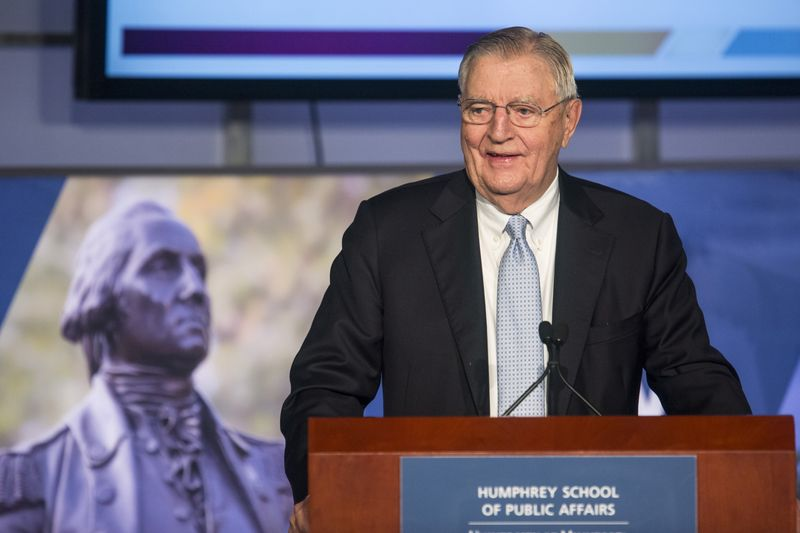 Former U.S. Vice President Walter Mondale dies at 93