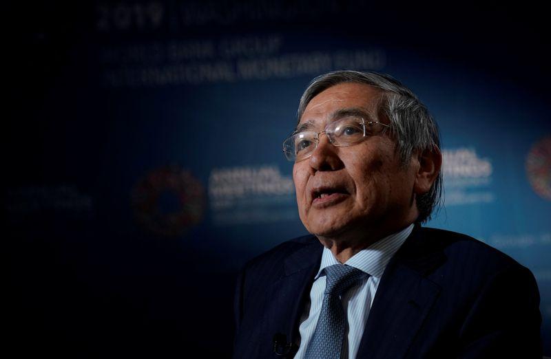 BOJ's Kuroda says premature to debate exit from ETF buying