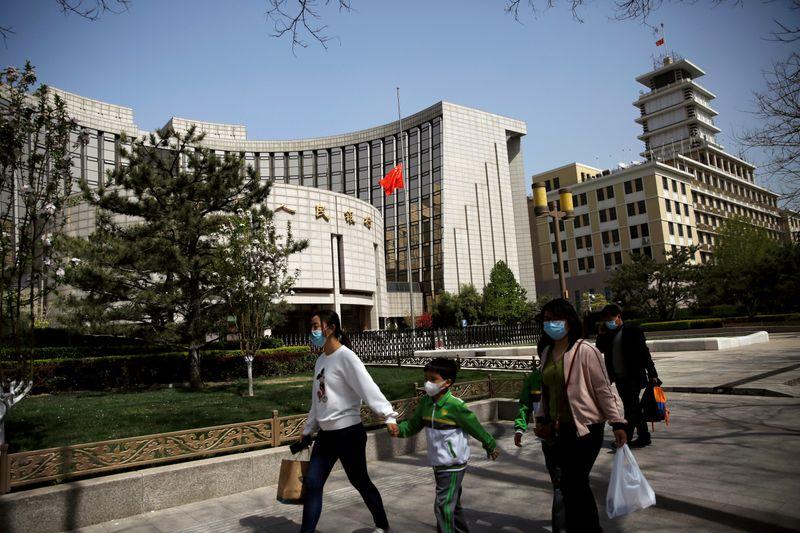 中国人民銀、最優遇貸出金利を12カ月連続で据え置き 予想通り