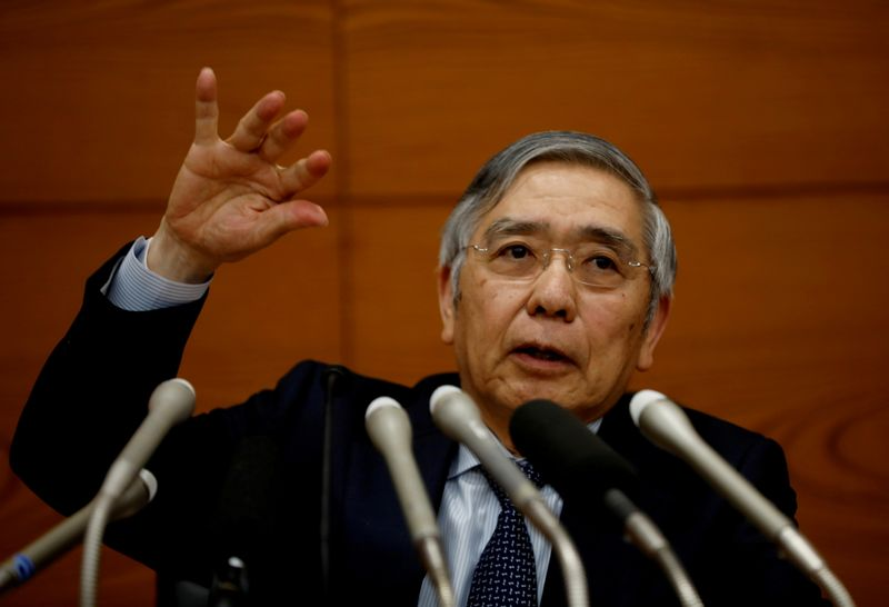 ETF購入、個別企業への介入を避けている=日銀総裁
