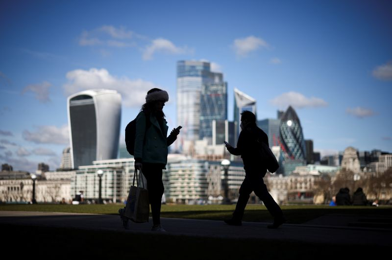 UK unemployment falls again under government's jobs shield