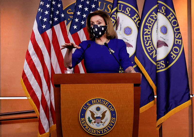 U.S. House Speaker Pelosi criticized for thanking George Floyd for 'sacrificing your life'