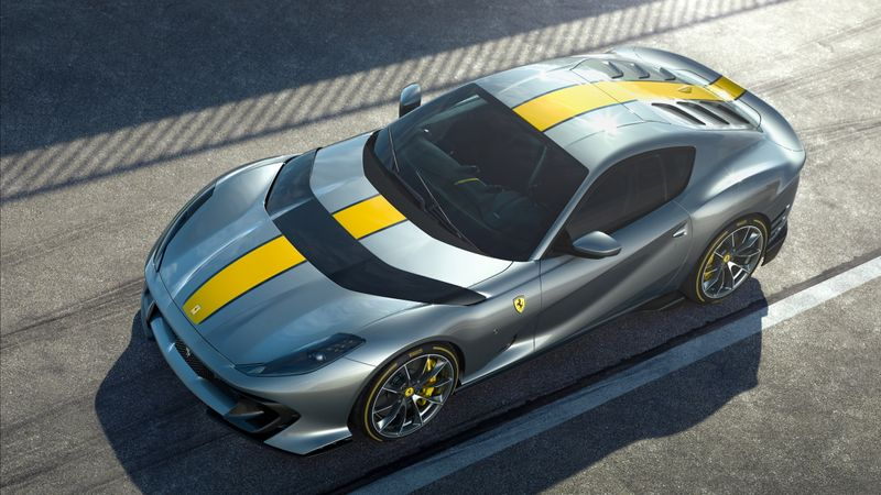 Ferrari unveils first details of special edition V12 car based on 812 Superfast
