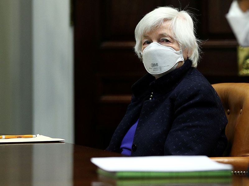 Yellen lays out 'bold' climate agenda for U.S. economy, markets