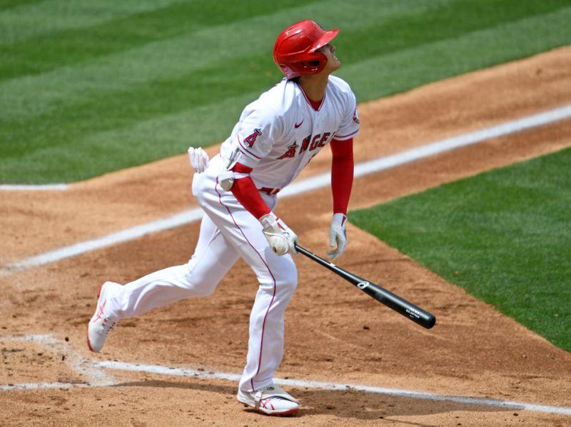 MLB=大谷が日米通算100号アーチ、前田は3回7失点
