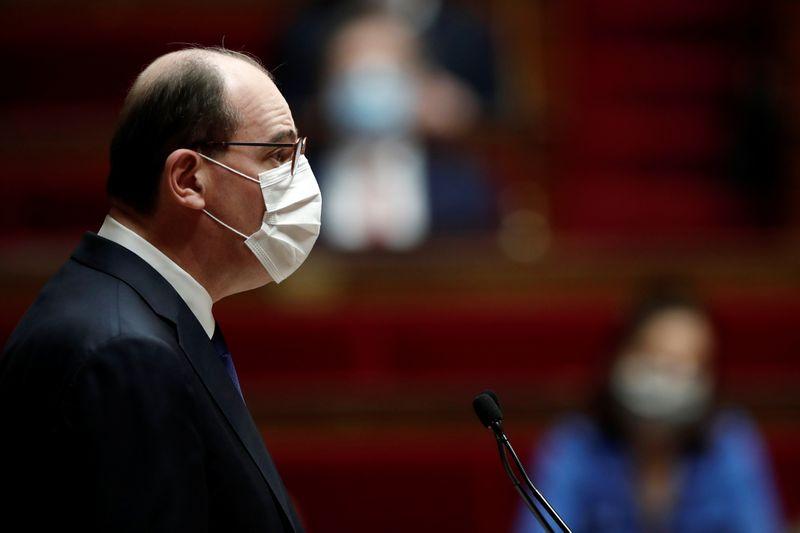 France: Vers une réouverture mi-mai, peut-être territorialisée, dit Castex