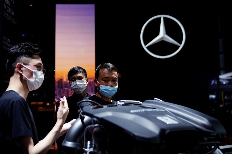 Daimler raises profit outlook, sees potential Q2 sales hit from chip shortage