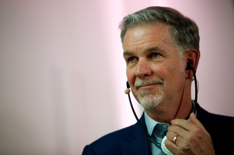 Netflix's Reed Hastings exercised $612 million from stock options in 2020