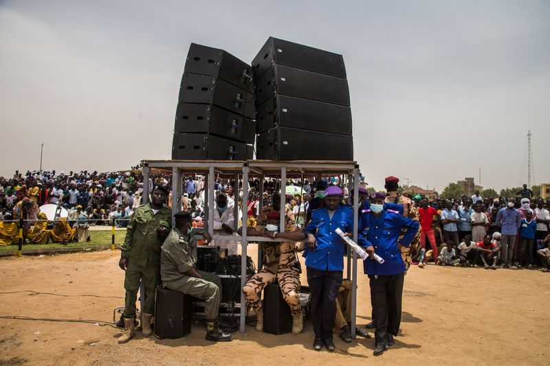 Chadian rebels vow to resume advance after Deby's funeral