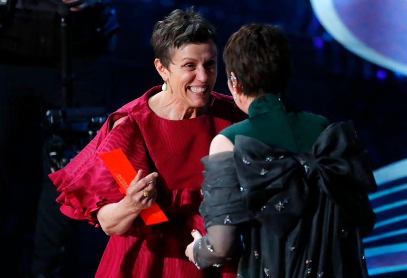 Frances McDormand wins third Oscar with