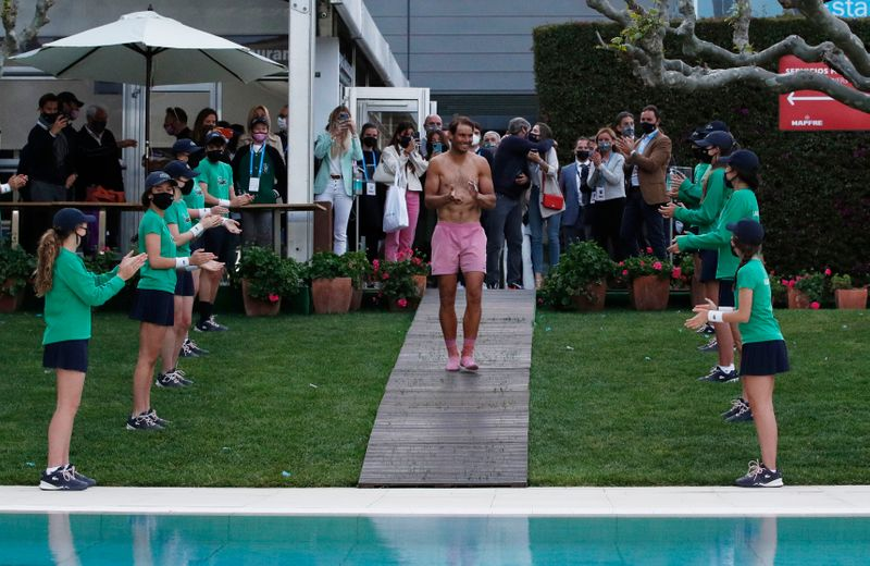 Barcelona test can be a platform to success in claycourt season: Nadal
