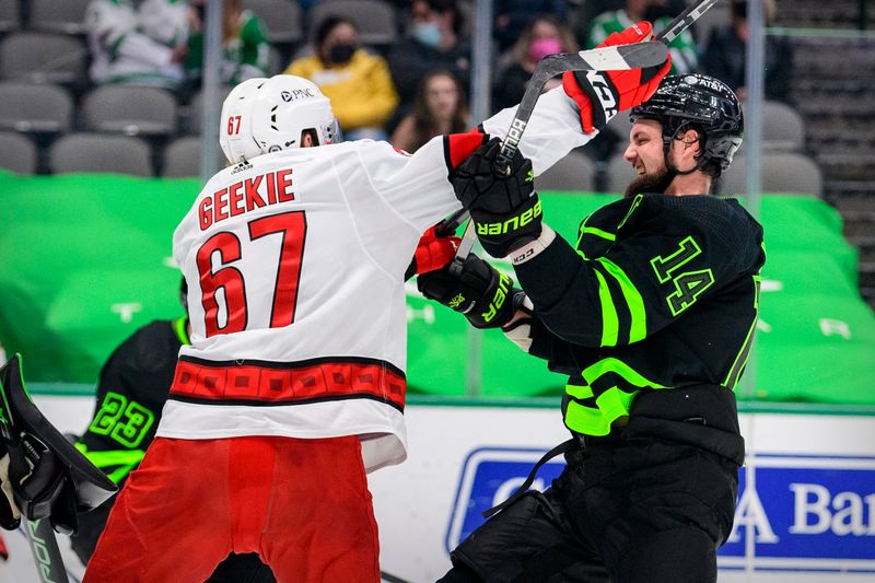NHL roundup: Hurricanes clinch playoff spot but fall to Stars