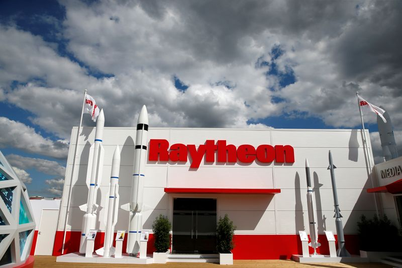 Defense and commercial travel boost Raytheon's hopes for the year