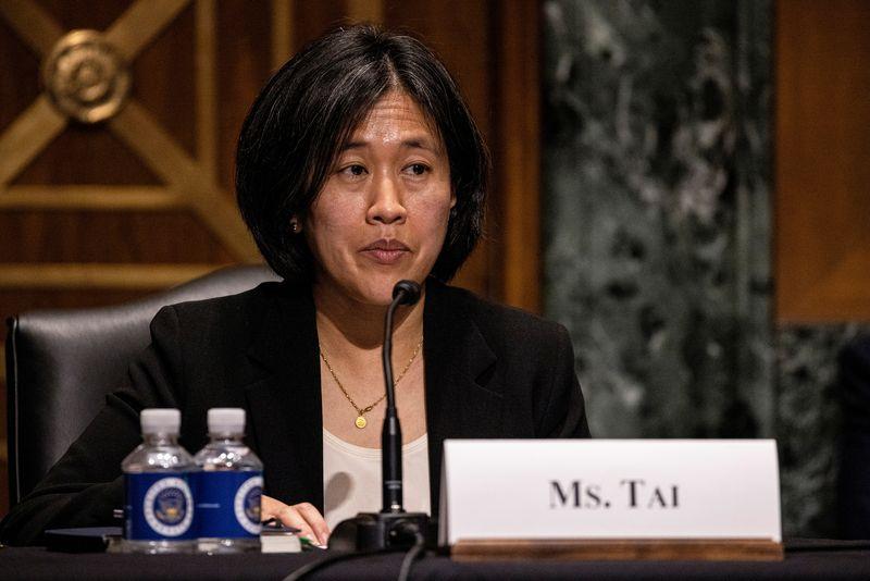 U.S. trade chief Tai, Britain's Truss discussed WTO reform in call - UK