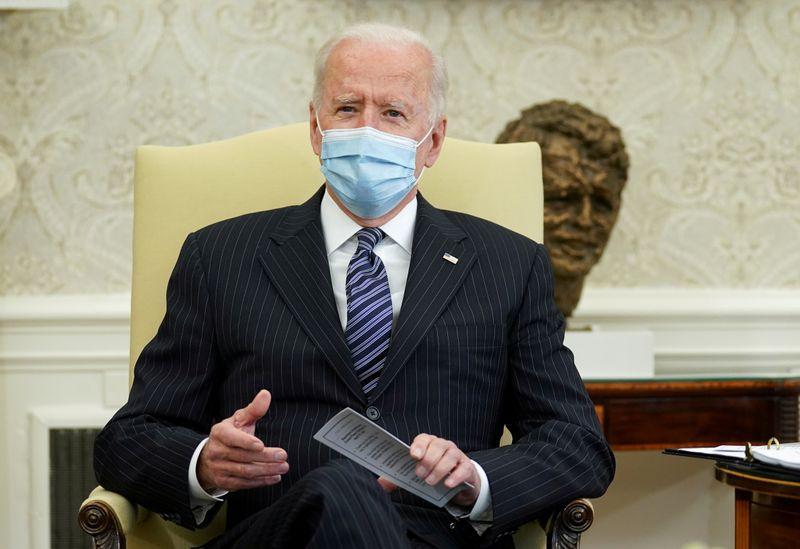 In first speech to Congress, Biden to push $4 trln spending plans