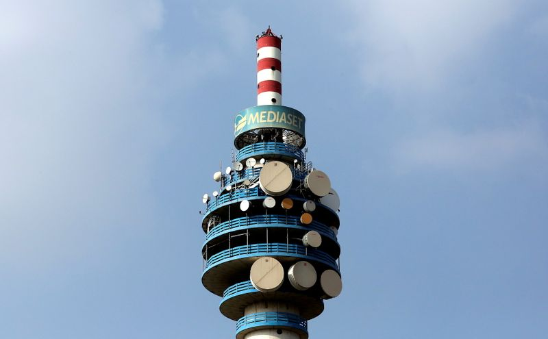Italy's Mediaset shares rise on prospect of truce with Vivendi