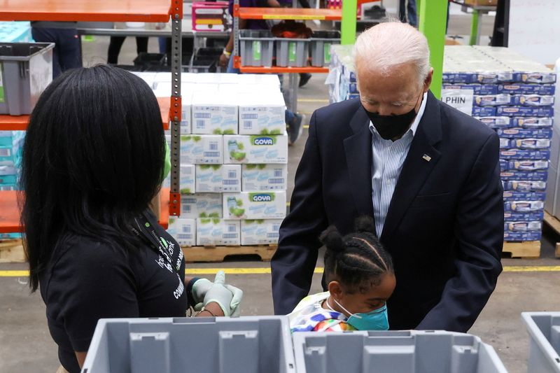 Biden's families plan includes free meals for millions of low-income children