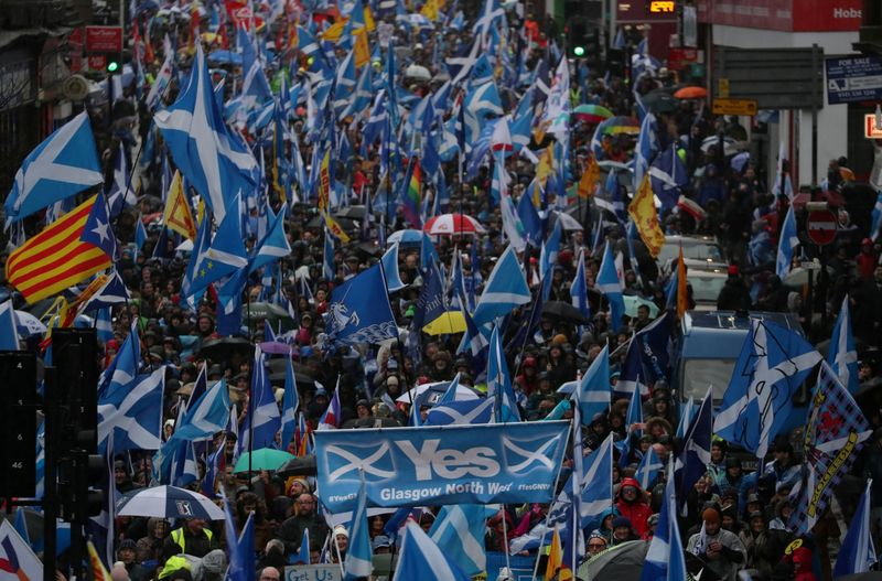 Analysis: Pound's post-Brexit calm may face Scottish independence test