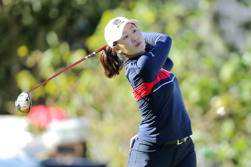 Golf-China's Lin surges into lead at Women's World Championship