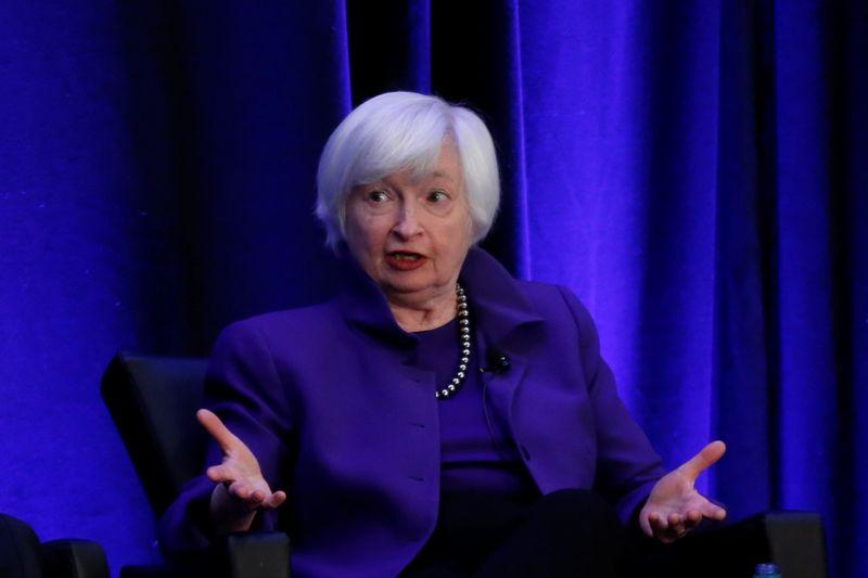 U.S. Treasury's Yellen tamps down inflation fears over Biden spending plan